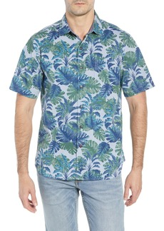 Tommy Bahama Shadow Shade Regular Fit Camp Shirt