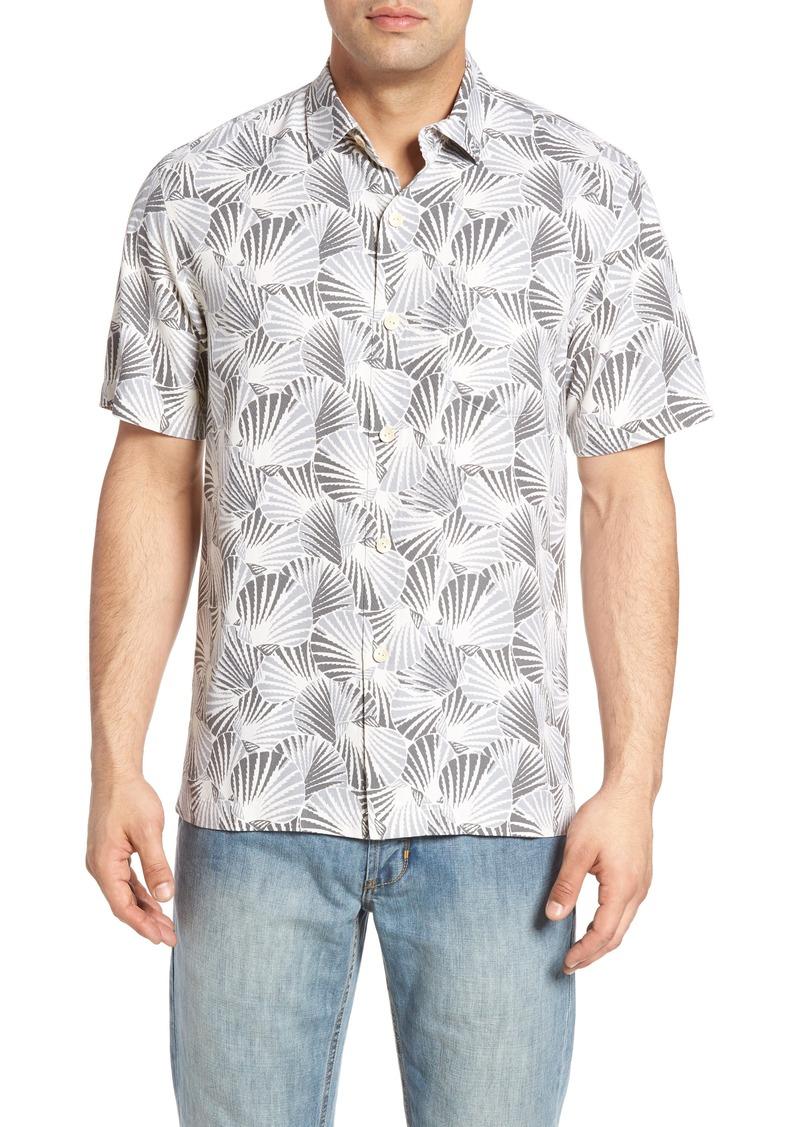 Tommy Bahama Shell We Dance Silk Camp Shirt