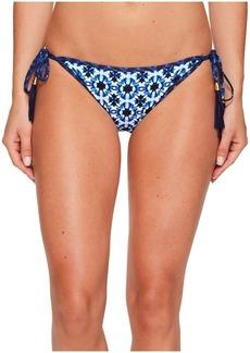 Tommy Bahama Shibori Splash Reversible String Bikini Bottom