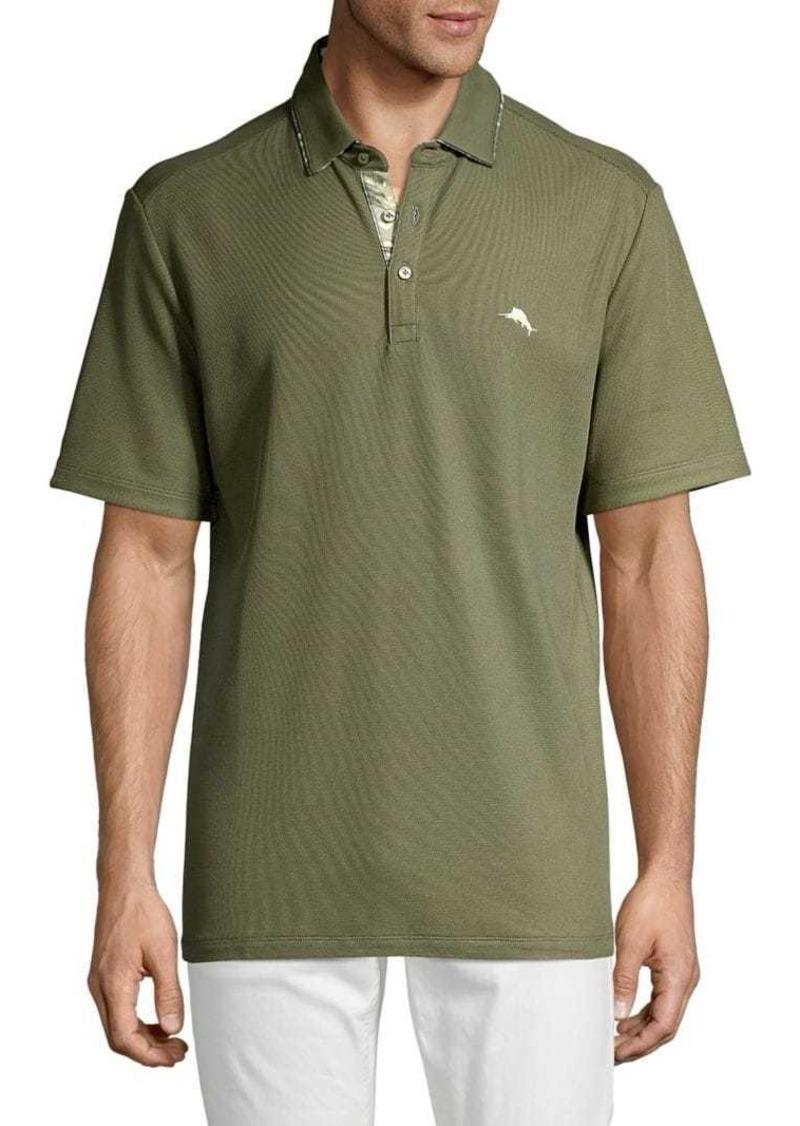 Tommy Bahama Short-Sleeve Cotton-Blend Polo