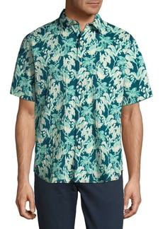 Tommy Bahama Short-Sleeve Printed Button-Down Shirt