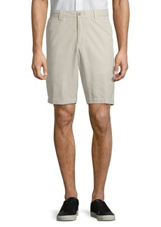Tommy Bahama Silk-Blend Flat Front Shorts
