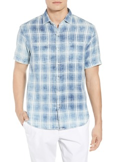 Tommy Bahama Soleil Del Fade Check Sport Shirt