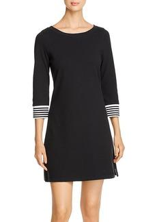 Tommy Bahama Striped-Cuff Knit Dress