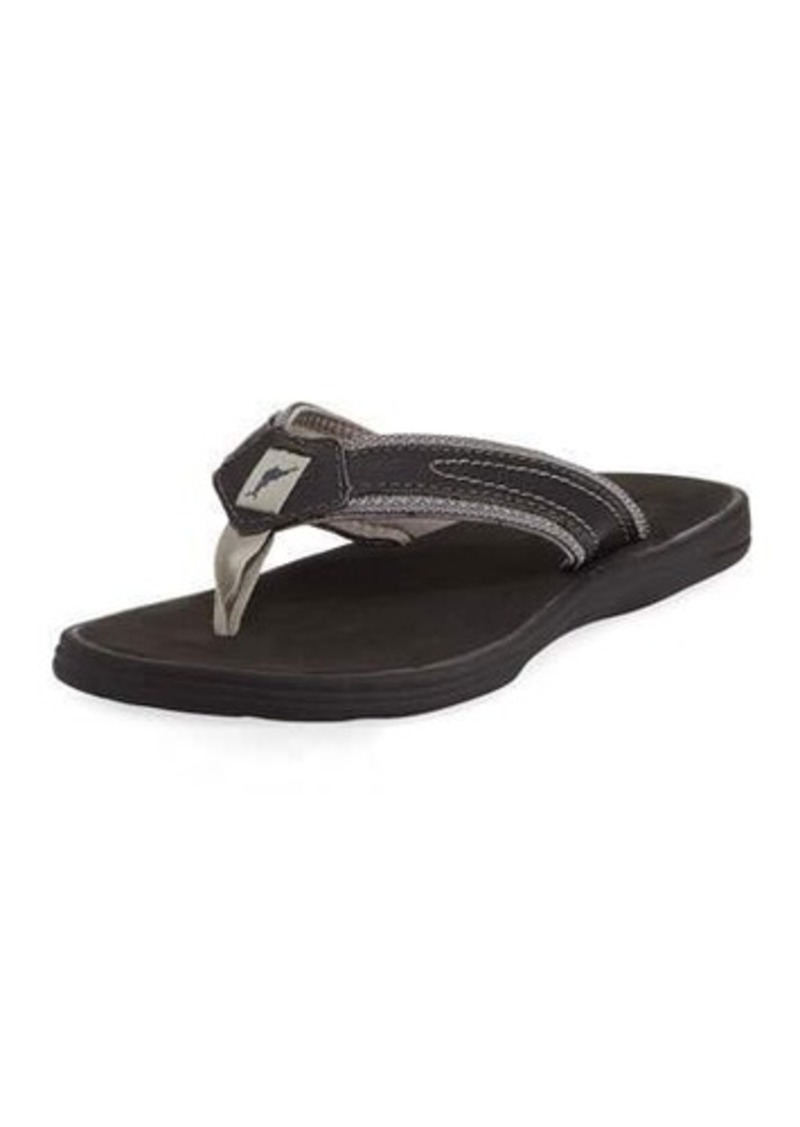 46a5e93625c9 Tommy Bahama Tommy Bahama Sumatraa Leather Thong Flat Sandal