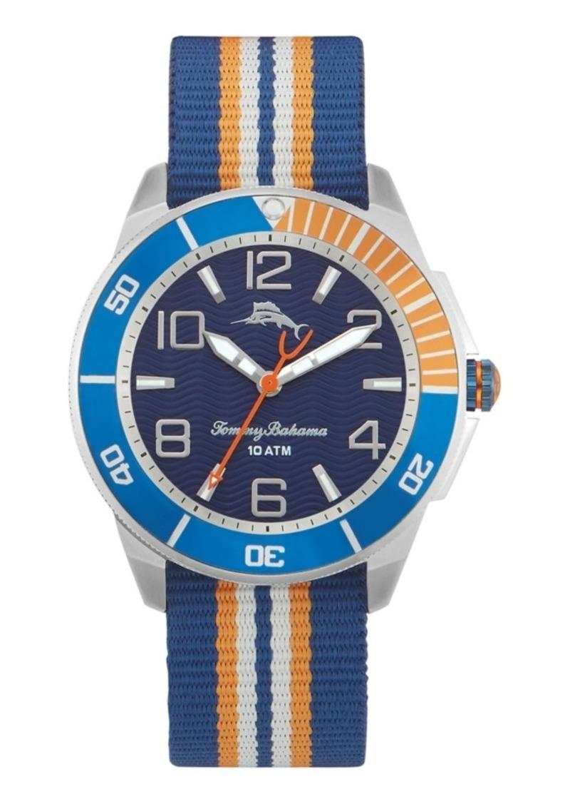 Tommy Bahama Surfline Silicone Watch