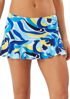 Tommy Bahama Swirl Tide High Waist Skirt Swim Bottoms