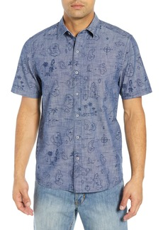 Tommy Bahama Tahiti Treasure Classic Fit Sport Shirt