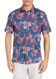 Tommy Bahama Tahitian Etch Camp Shirt