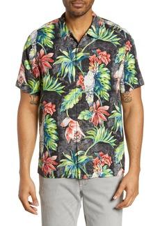 Tommy Bahama Tahitian Tweets Classic Fit Silk Camp Shirt