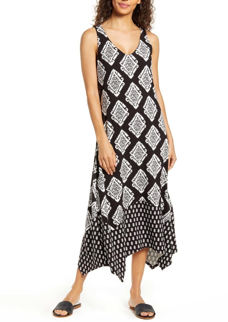 Tommy Bahama Taj Tiles Sleeveless Midi Dress