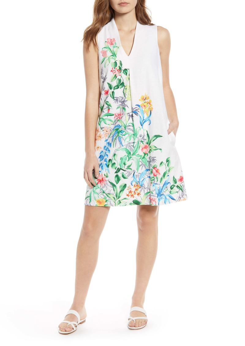 Tommy Bahama Tambay Trellis Sleeveless Shift Dress