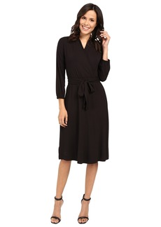 Tommy Bahama Tambour 3/4 Sleeve Wrap Dress