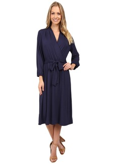Tommy Bahama Tambour 3/4 Sleeve Wrap Dress