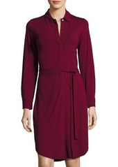 Tommy Bahama TAMBOUR BELTED SHIRT DRESS