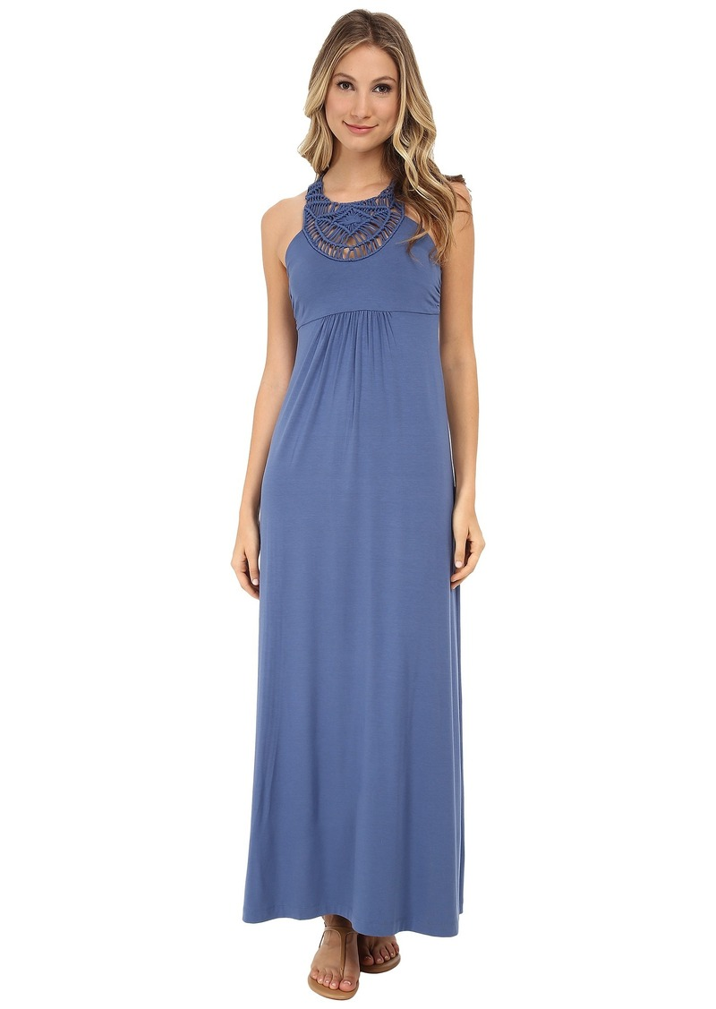Tommy Bahama Tambour Crochet Long Dress