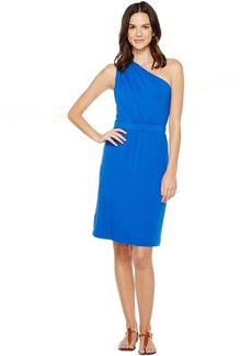 Tommy Bahama Tambour Draped Short Dress