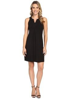 Tommy Bahama Tambour Notch Neck Short Dress