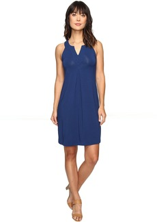 Tommy Bahama Tambour Notch Neck Short Dress