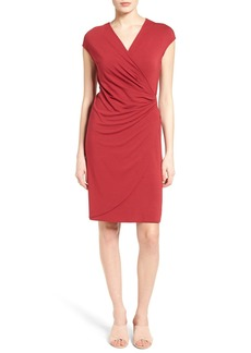 Tommy Bahama Tambour Side Gathered Jersey Dress