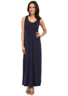 Tommy Bahama Tambour V-Neck Maxi Dress