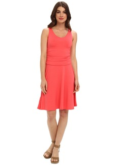 Tommy Bahama Tambour V Shirred Dress