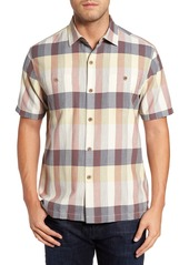 Tommy Bahama Tamuda Bay Plaid Silk Blend Camp Shirt