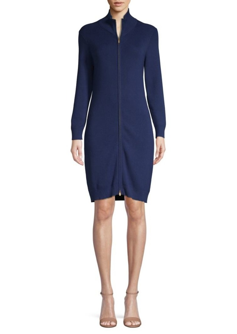Tommy Bahama Textured Cotton-Blend Sweater Dress