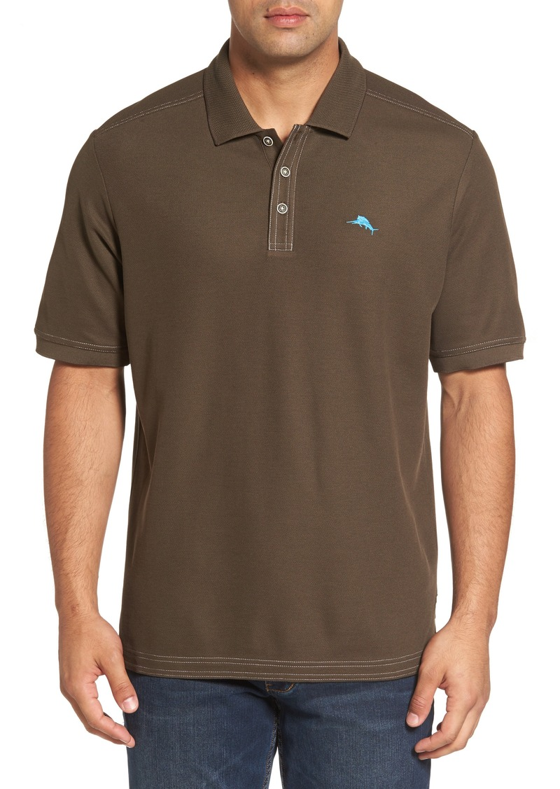 Tommy bahama tommy bahama the emfielder piqu polo for Tommy bahama polo shirts on sale