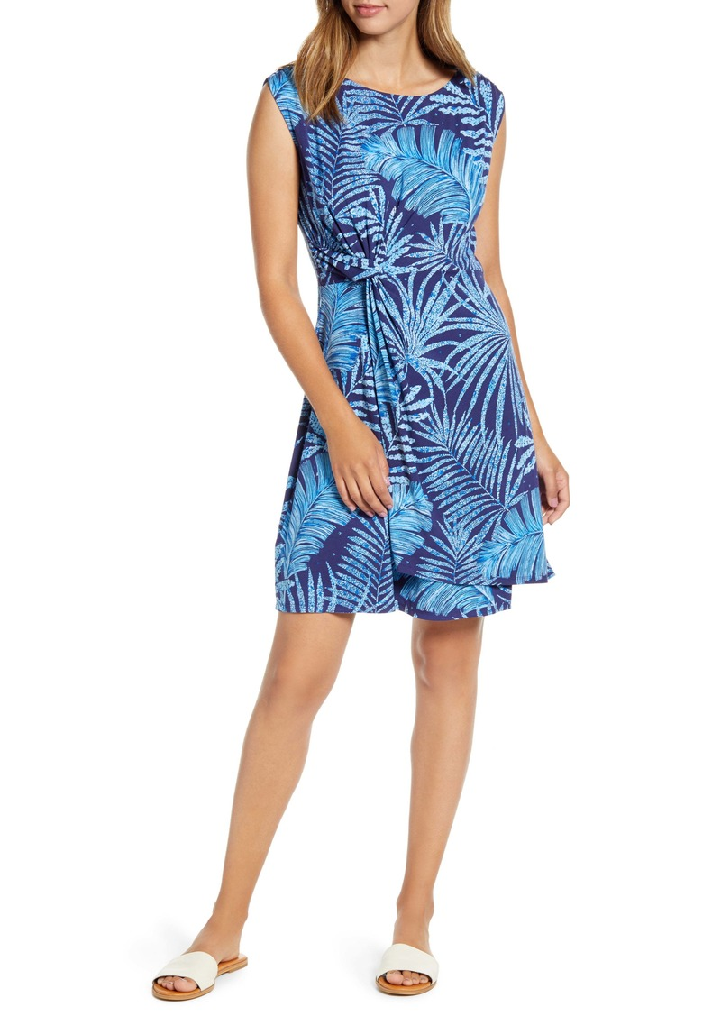 Tommy Bahama Through the Fronds Side Twist Sleeveless Dress