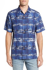Tommy Bahama Tie Dye For Silk Camp Shirt