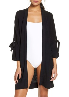 Tommy Bahama Tie Sleeve Cover-Up Cardigan