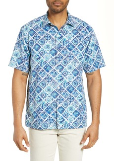 Tommy Bahama Tivoli Tiles Silk Blend Shirt