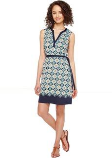 Tommy Bahama Triada Tiles Sleeveless Short Dress