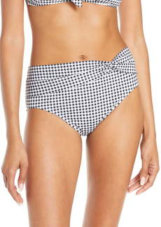 Tommy Bahama Twist High Waist Bikini Bottoms