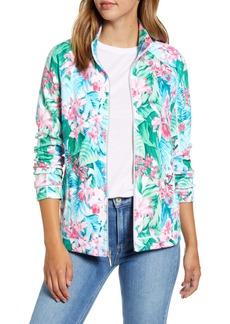 Tommy Bahama Valley of Flowers Aruba Zip Jacket