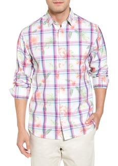 Tommy Bahama Vedado Regular Fit Plaid Sport Shirt