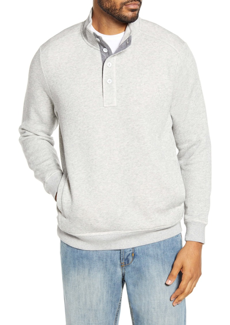 Tommy Bahama Via Norte Half Button Pullover