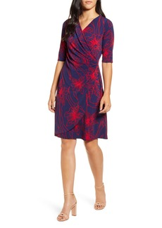 Tommy Bahama Vista Blooms Wrap Front Dress