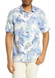 Tommy Bahama Wallis Tropics Classic Fit Silk Blend Sport Shirt