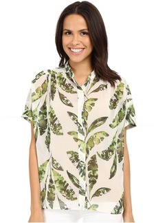 Tommy Bahama Watercolor Palmier Blouse