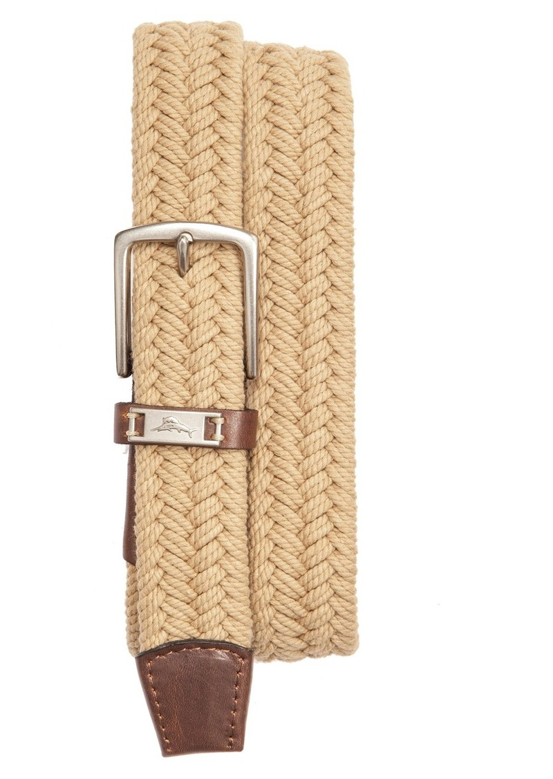 Tommy Bahama Webbed Cotton Belt