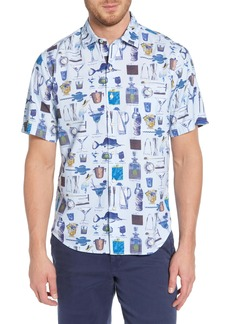 Tommy Bahama Well Stocked Classic Fit Sport Shirt