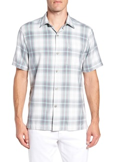 Tommy Bahama Zamora Plaid Silk Sport Shirt