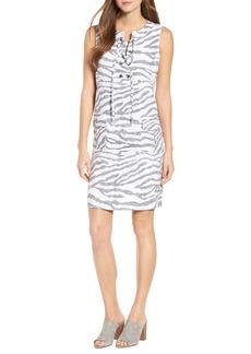 Tommy Bahama Zebra Taunt Shift Dress