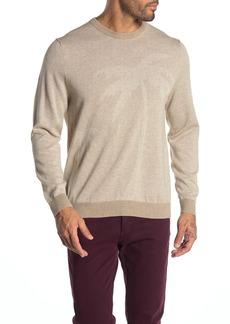 Tommy Bahama Tonal Palm Crew Neck Sweater