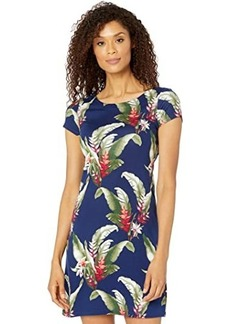 Tommy Bahama Tropic Wonder Short Sleeve Short Dress