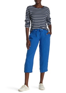 Tommy Bahama Two Palms Seam Cropped Linen Pants