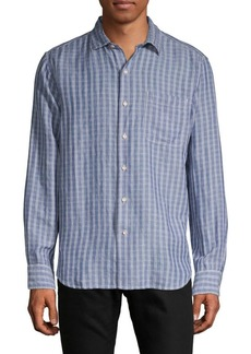 Tommy Bahama Virtual Plaid Button-Down Shirt