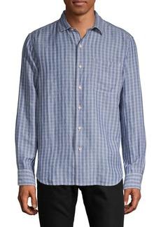 Tommy Bahama Virtual Plaid Button-Down Shirt